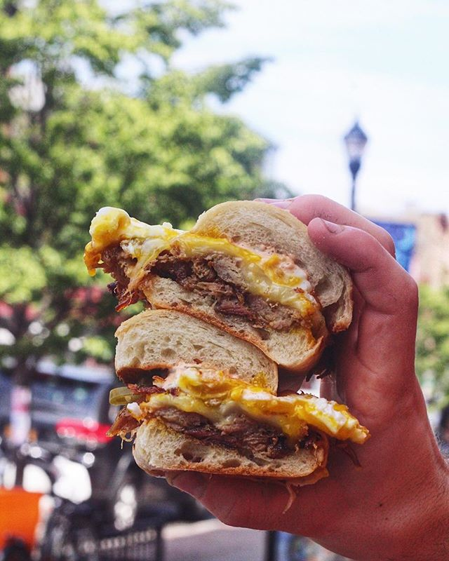 #NationalEggDay feeeels.  Put an egg on it is the motto💯🍳 . Fried eggs now available as a topping on any sandwich or bowl! Come n get it.