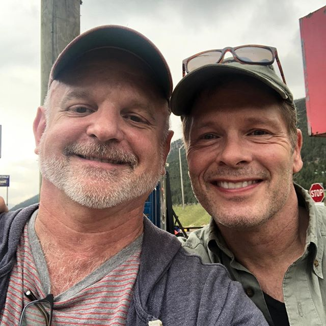 A selfie with my friend and brilliant director Michael Wilson at the end of our workshop production of Tender Mercies in Colorado. If you've never worked with Michael, you're missing a rare gift.