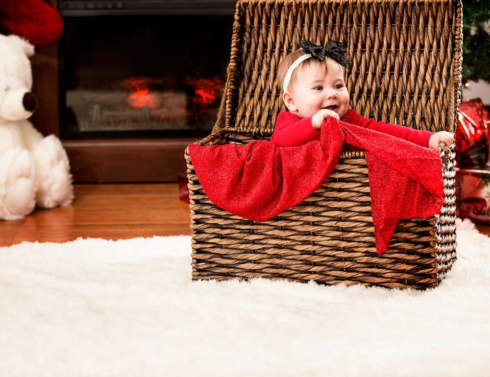 Holiday Family Portrait Photography in Cleveland, Ohio.