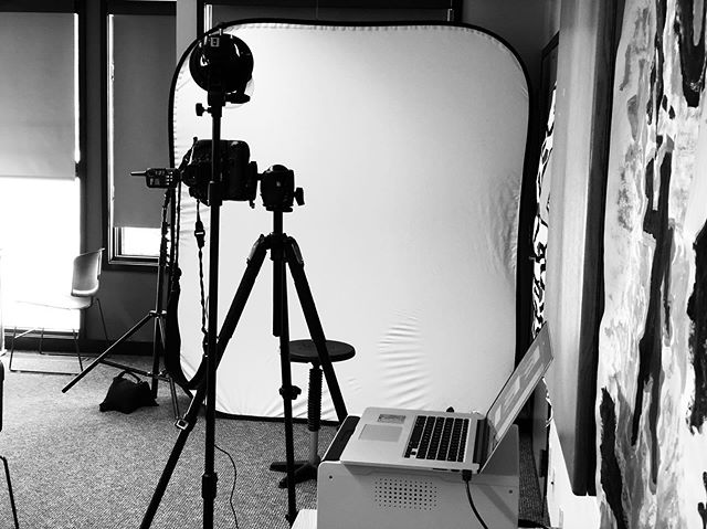 Today's Camera Room - Shooting Passports On-Location  #ClevelandPortraitPhotographer https://www.portraitsbymatthew.com/passports