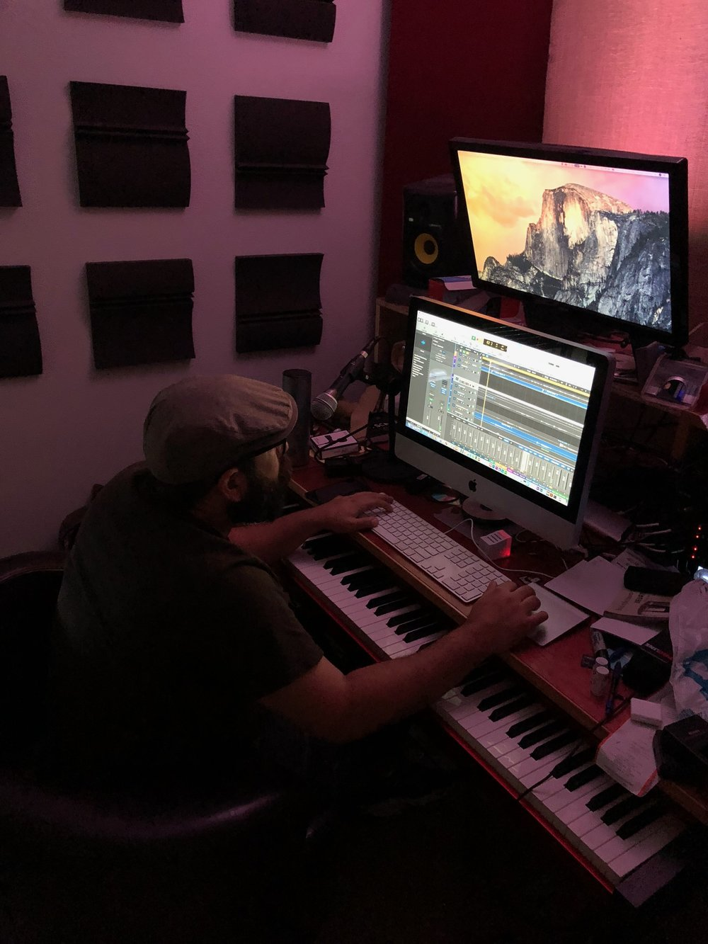 Omar, just… mixing away, as he is wont to do