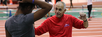 Tim St. Lawrence:  Lawrence is director of the acclaimed Hudson Valley Flying Circus and has coached 10 athletes to jump over 16 feet, included a former New York state record holder.