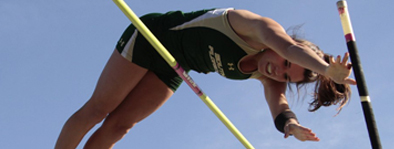 Stephanie Duffy:  Duffy is one of the greatest high school pole vaulters in New York State history, while at Washingtonville HS. She was a 3x State Champ and All-American. She went on to compete for University of South Florida where she was Big East Champion and NCAA Provisional qualifier. Stephanie now coaches at Hudson Valley Flying Circus.