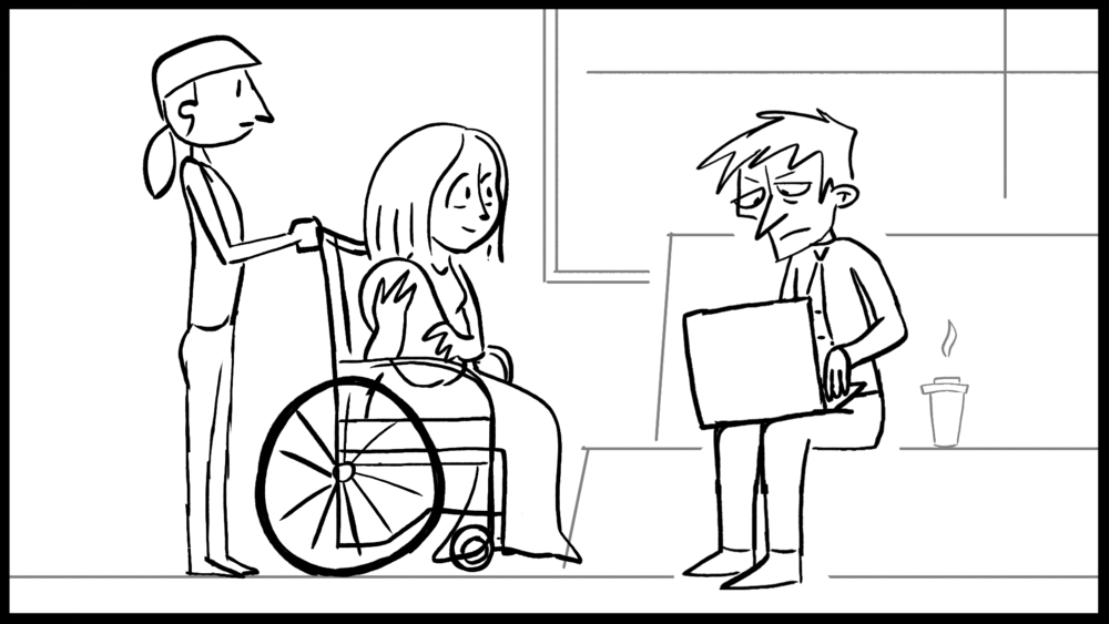 """The Joy of Birth"" Storyboard"
