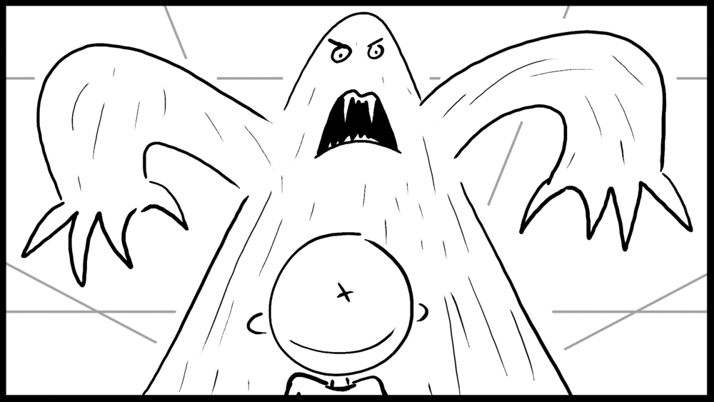 """""""Space Junk"""" Storyboard"""