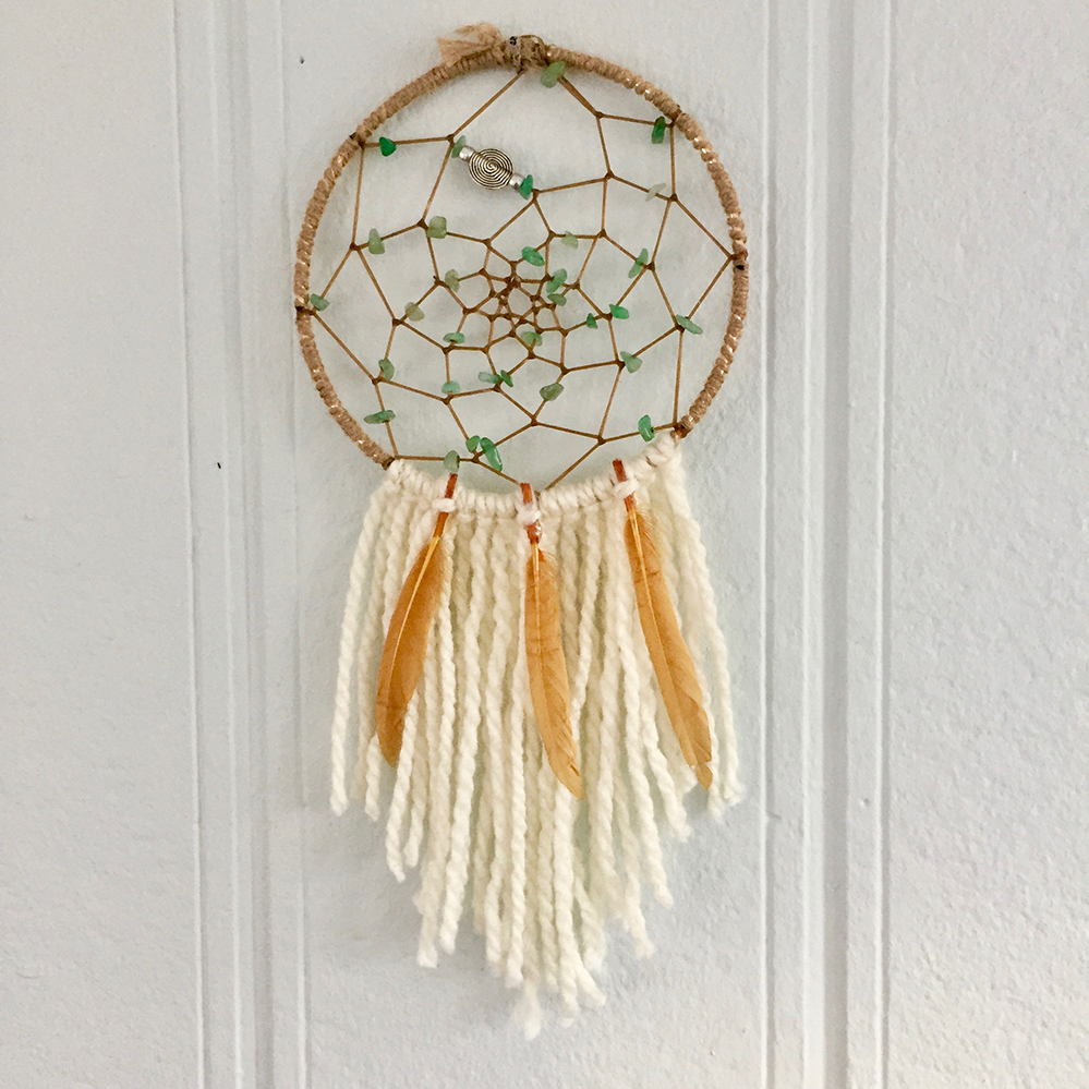 Learn to make a beautiful Dream Catcher! - Each participant will create their own dreamcatcher by building a basic hoop structure, designing their inner web, and adorning the web and bottom feathers, ribbons, yarn and more.
