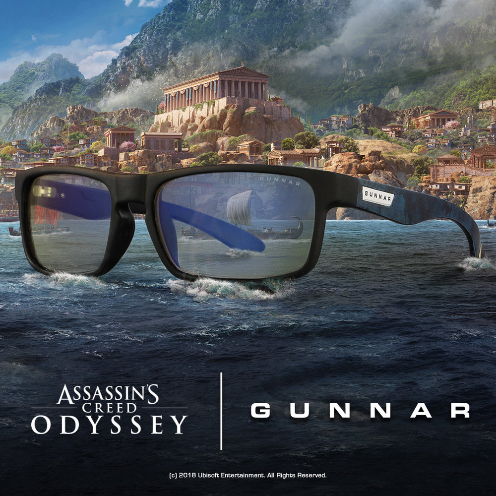 Assassin's Creed X GUNNAR Collaboration