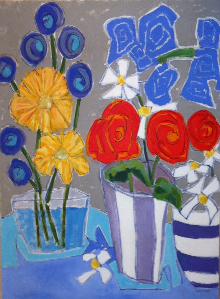 lucy paige painter key west artist abstract collage - arrangements.jpg