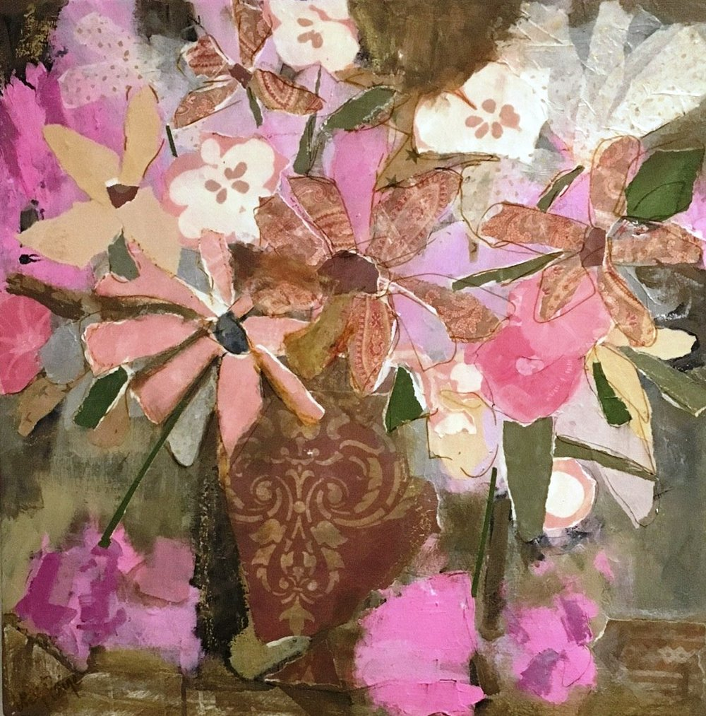 lucy paige painter key west artist abstract collage - Heirloom.jpg