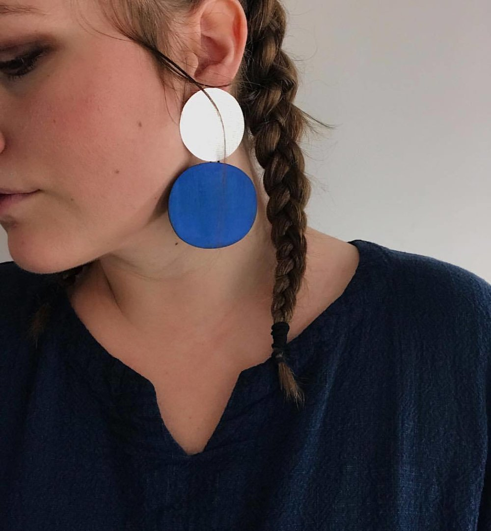 Skye earrings regram @oksarahmay lovely thank you via @tenoversix