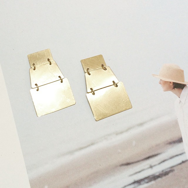 ACB /// Stak Earrings available at @shopclarev