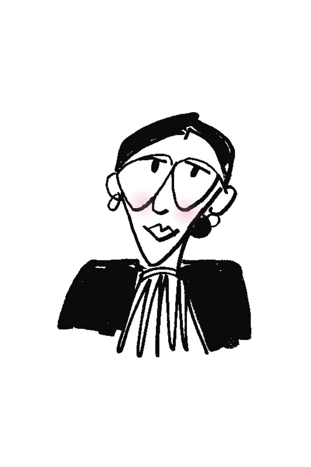 Portrait of Ruth Bader Ginsberg