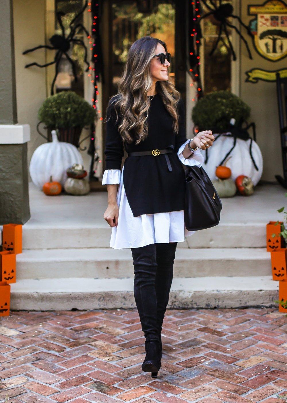 Halloween Sweater Dress