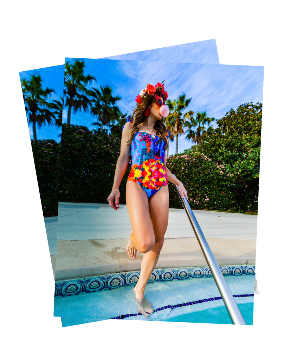 """FRIDAY FAVORITES - SWIM FAVORITES FROM SHOPBOP - With Spring Break in the midst and Summer fast approaching, let's get your pool game poppin' with these top swimsuits picks from Shopbop! I love getting swimsuits that are different and unique. Shopbop is such a great source for me to find styles that are a step up from those BASIC """"mom suits"""" you see all Summer at the pool! When I saw this swim suit from Carolina K, I just had to have it! I love Frida and it reminds me of her mixed with the lady with the fruit on her head…..you know, the one Carmen Miranda played in Copacabana! I've always wanted to……"""