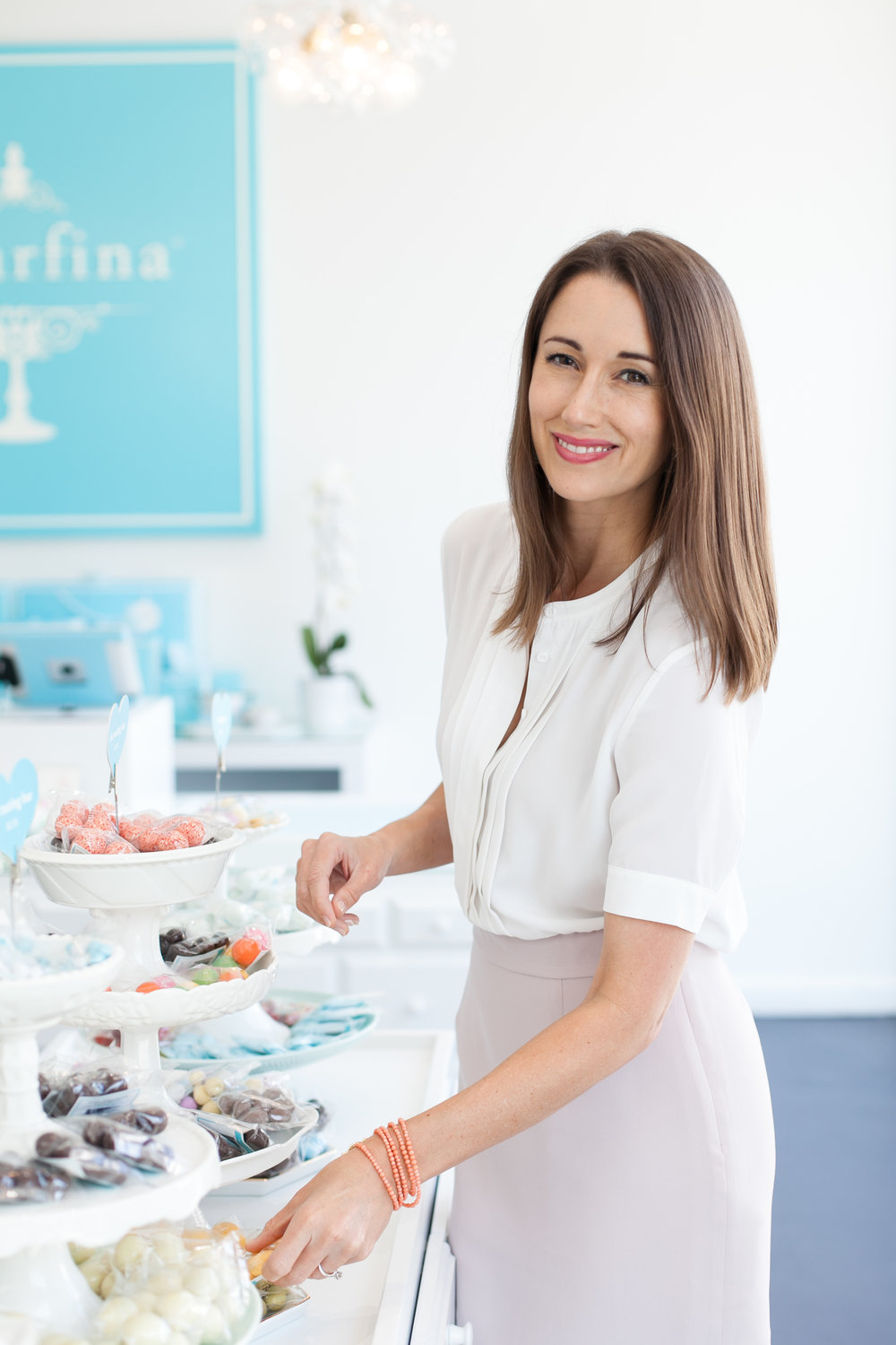 Save the Date: Join us at The slate on april 2nd at 9:30 am for coffee while we skype with rosie o'neill, co-founder and co-ceo of sugarfina - The Slate is located at 2403 Farrington, Dallas TX 75207