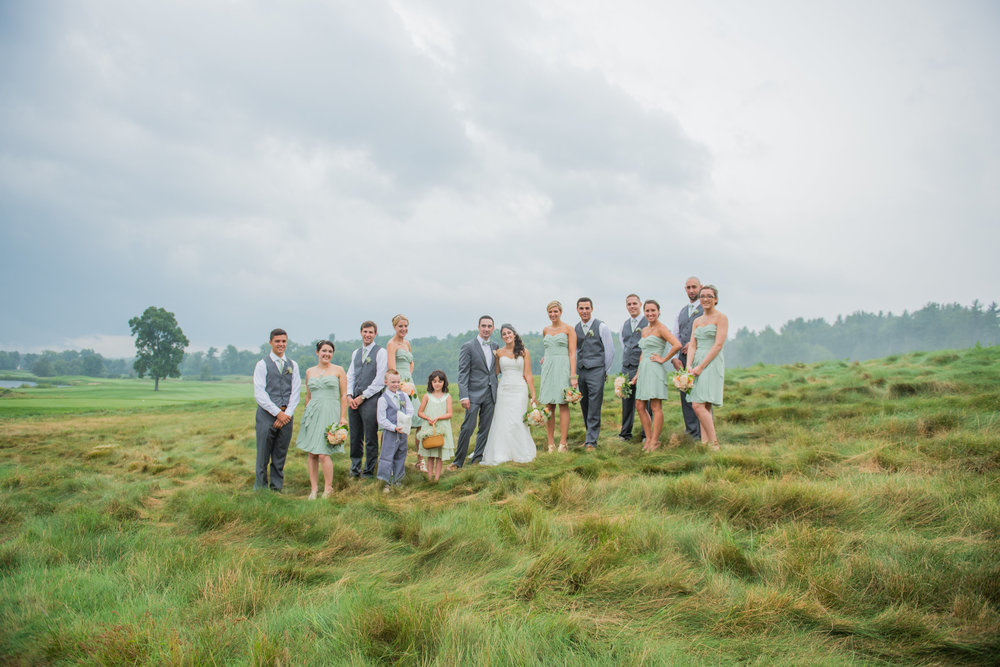 bridal party, ct wedding, new england wedding