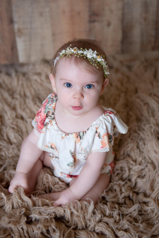 CT Baby Sitter Session | www.heatherandsarahphoto.com