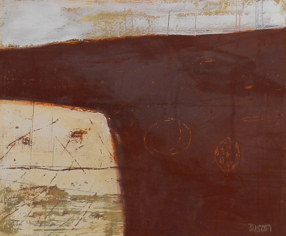 Hades Map 4 Oil on board 35 x 42 cm 2015