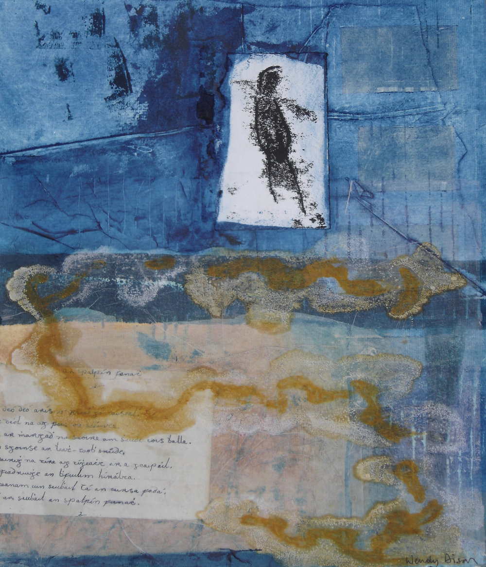 Peripheral Vision 1 Mixed media on paper 41 x 35 cm 2007