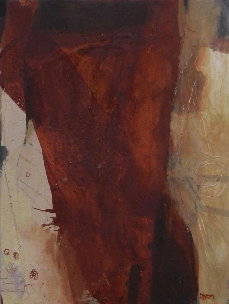 Persephone  Oil on board 69 x 52 cm 2015
