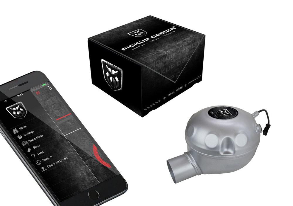 Pickup Design V8 Exhaust Sound System