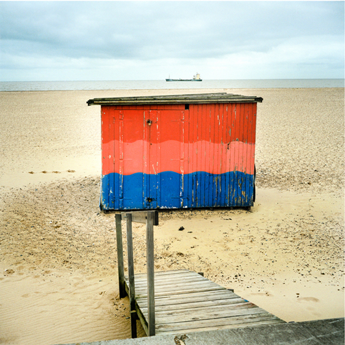 BEACH HUT, LAND AND SEA