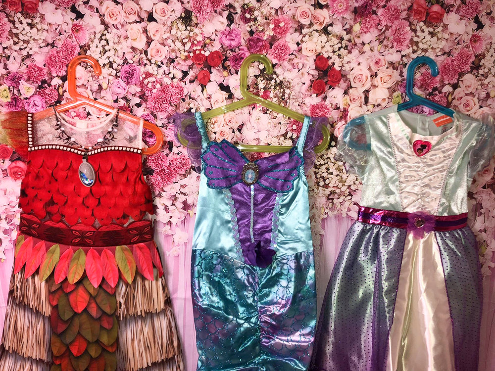 Dresses and Props