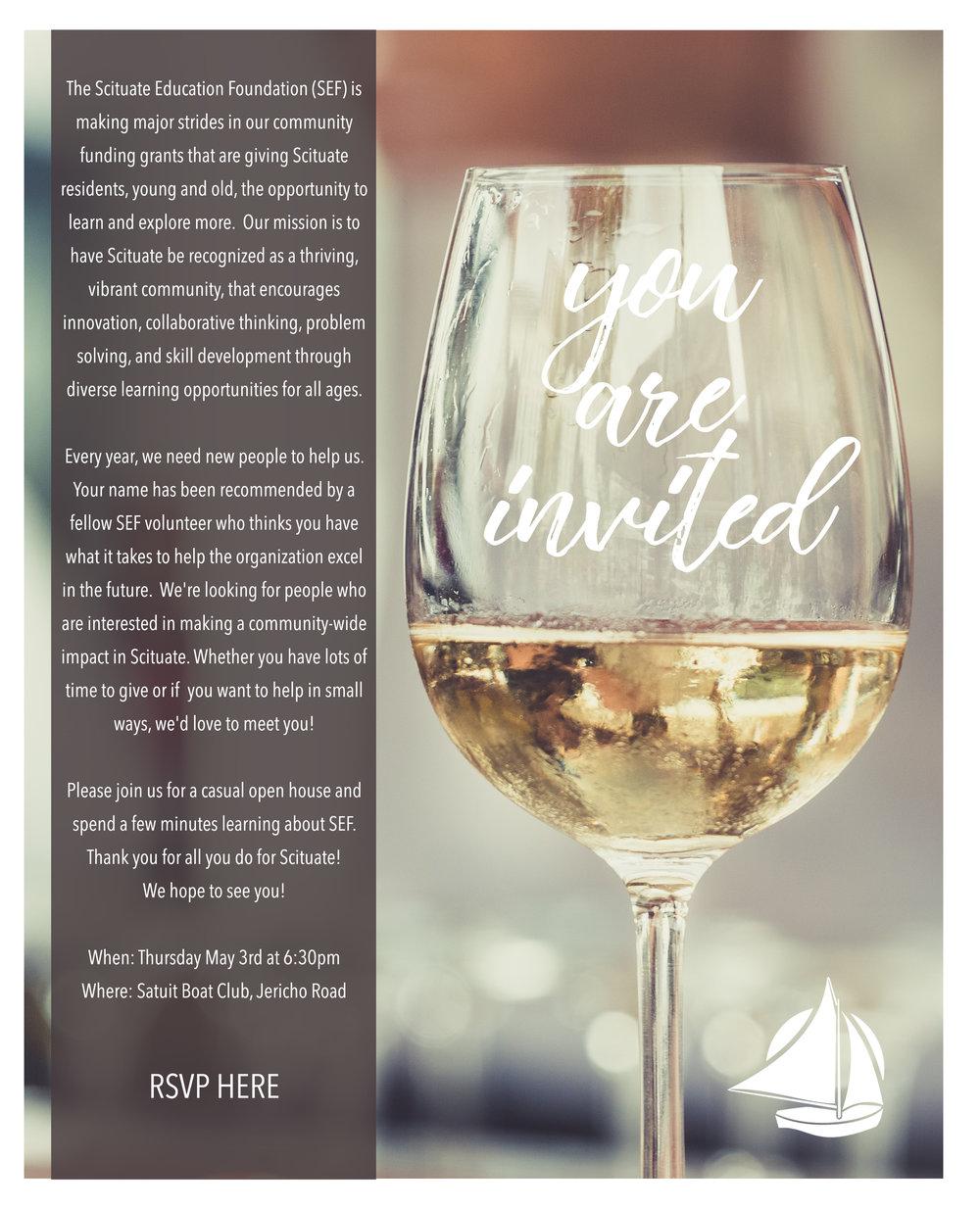 Wine & Cheese Invitation