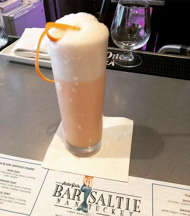 orange. @barsaltie taste exactly like a liquored up creamsicle #🍊🍹💥