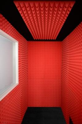4x6 Gold Series VocalBooth Interior
