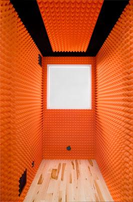Orange Studio Foam Interior