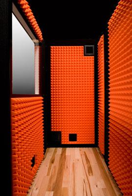Platinum VocalBooth Hardwood Floor