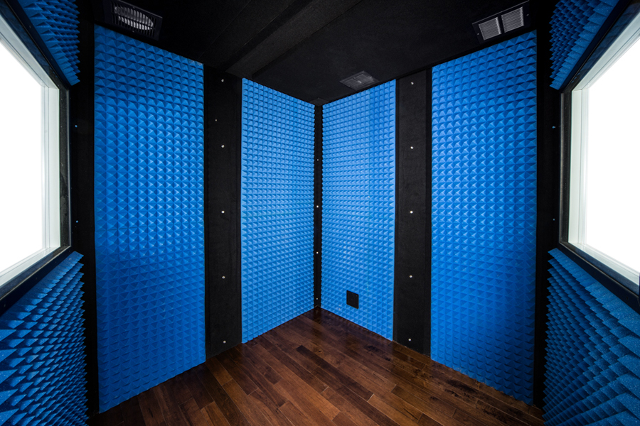 Blue Studio Foam Interior