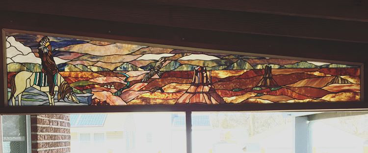 Designed & Fabricated for David Albert Stained Glass