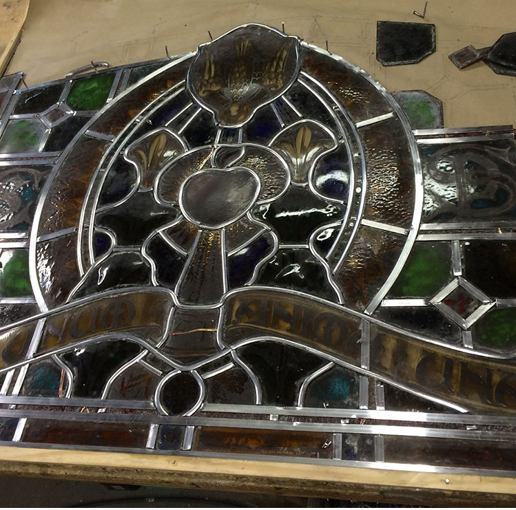 Restored for David Albert Stained Glass