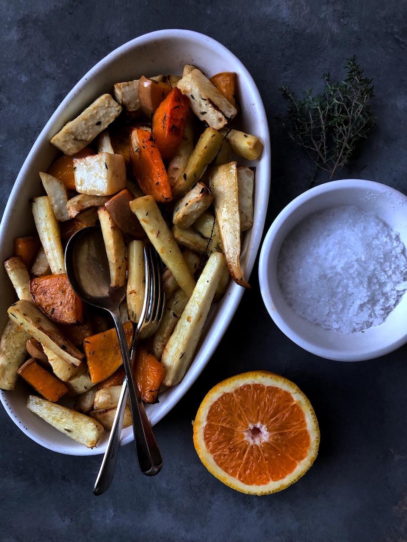 Zimsko povrce peceno sa medom .JPG