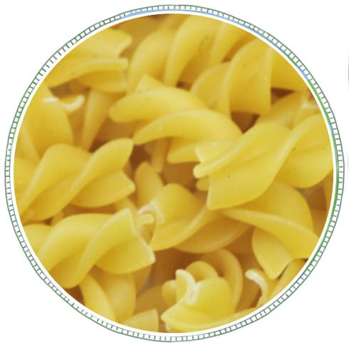 Fusilli Pasta White -