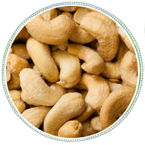 Roasted and Salted Cashews -