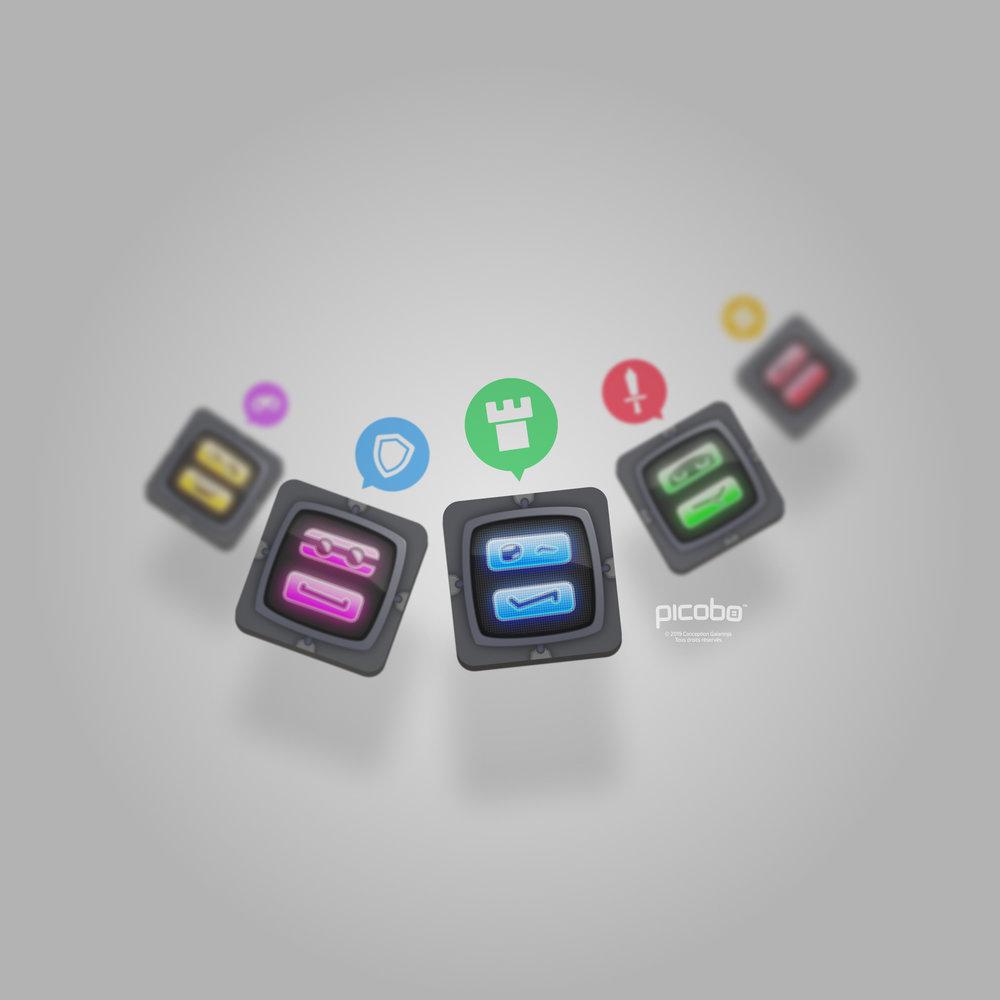 Fond Picobo pour tablette