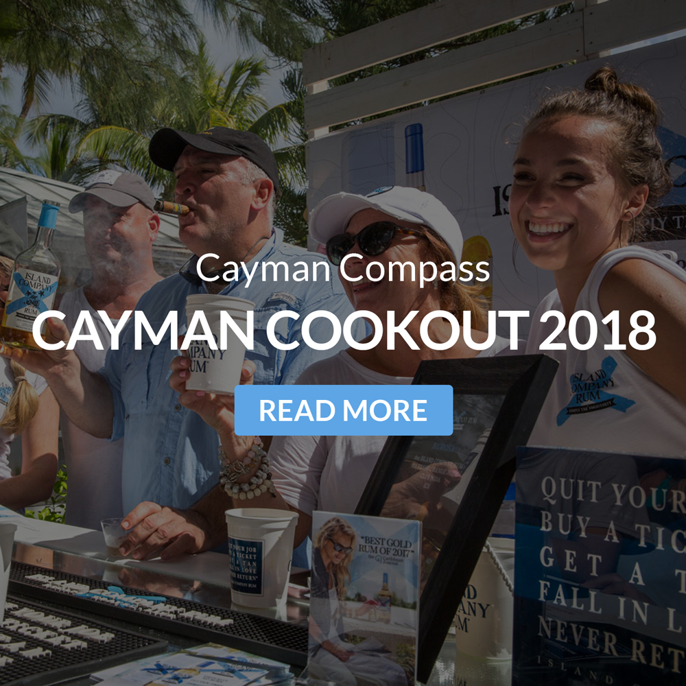 Cayman Compass: Cayman Cookout celebrates 10 years, and Island Company Rum is there to celebrate!