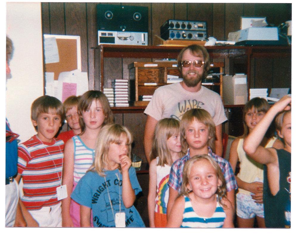 Gary at KFWJ/KBBC Radio in Lake Havasu City, AZ