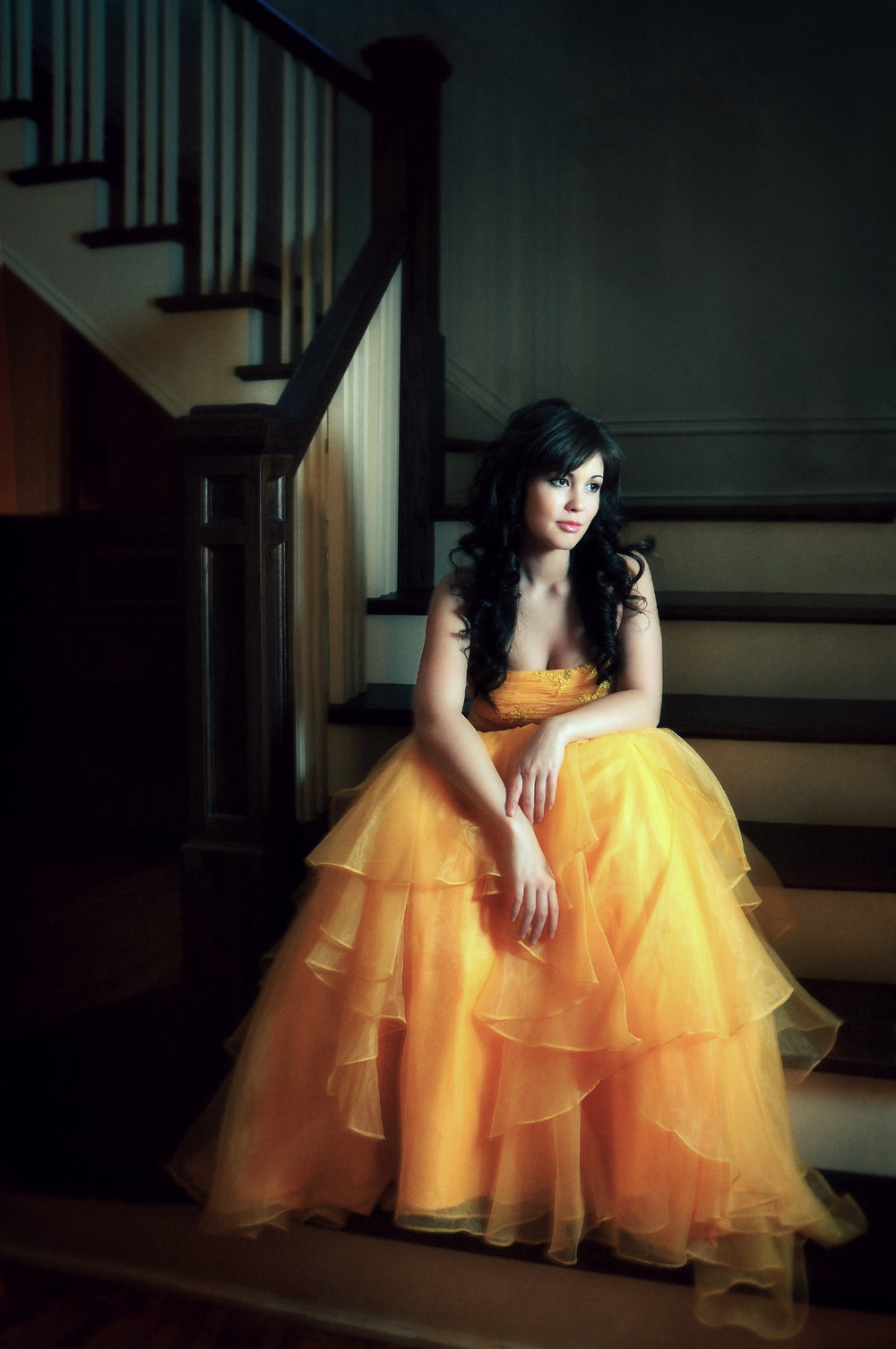 Marta-Hewson-Classical-Portrait-Fashion-Tatiana-Orange-Prom-Dress-Mirellas.jpg