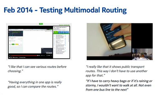 4. PROTOTYPING AND USER TESTING   continuously iterating and testing to find good solution.