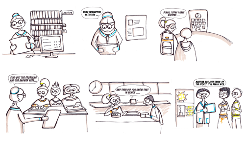 Storyboard for game use