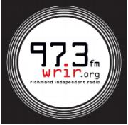 97.3 WRIR logo white circle black back.png