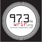 97.3 WRIR logo white circle black back.png