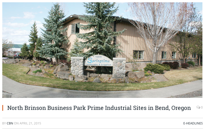 North Brinson Business Park - ...will always provide a great location for present buyers and renters.