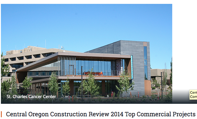TOP COMMERCIAL PROJECTS 2014 - Empire Construction & Development was recognized for the completion of the Bend Rock Gym.