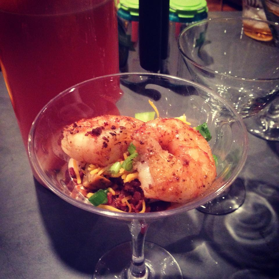 Shrimp & Grits in Martini Glasses 1.jpg