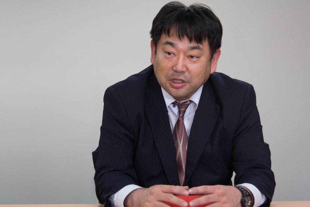 総務部 情報システム課 関岡氏
